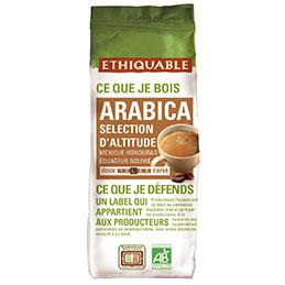 Café altitude bio Ethiquable - paquet de 250g (photo)