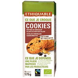 Cookie Pepite choco bio Etiquable - paquet de 175g (photo)