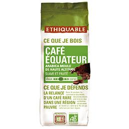 Café moulu équateur Ethiquable - paquet de 250g (photo)