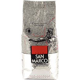 Café grain San Marco - paquet de 1kg (photo)