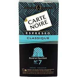 Capsule Carte Noire nespresso - n°7 - paquet de 10 (photo)