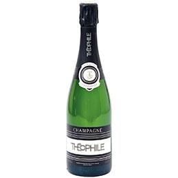 Bouteilles de champagne Brut THEO - carton de 6 (photo)