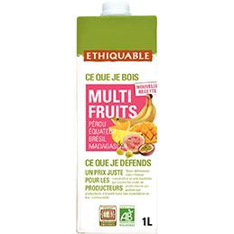 Brique multi fruits bio - 1L (photo)