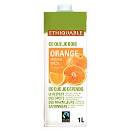 Jus d'orange Ethiquable - 1L (photo)