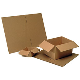 Caisses américaines simple cannelure Ondulys Référence - 400X300X200mm - paquet de 25