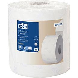 Rouleaux papier toilette Jumbo Doux T1 Tork  - lot de 2 (photo)