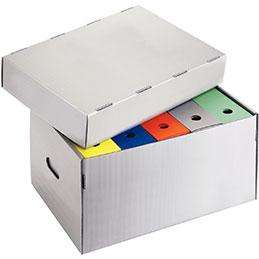 Container à archives Extendos - polypropylène recyclable - carton de 5