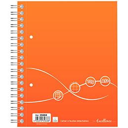 Cahier à reliure intégrale Excellence - A5+ - 160 pages - quadrillé 5x5 - 70g (photo)