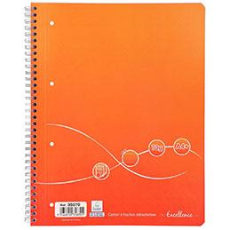 Cahier à reliure intégrale Excellence - A4+ - 160 pages - ligné papier - 70g (photo)