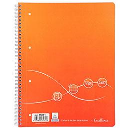 Cahier à reliure intégrale Excellence - A4+ - 160 pages - seyes - 70g (photo)