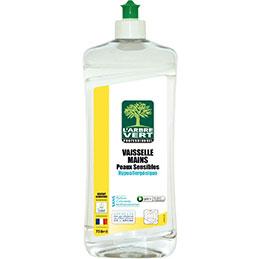Liquide vaisselle peaux sensibles L'arbre Vert - 750ml (photo)