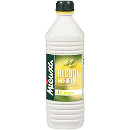 Bouteille alcool ménager - citron - 1L (photo)