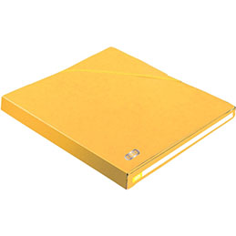 Chemises Elba Alpina Eurofolio - dos 25 mm - jaune