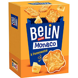 Boîte de crackers Belin Monaco à l'emmental - 100g (photo)