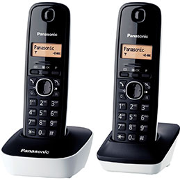 Téléphone PANASONIC TG1612 duo (photo)