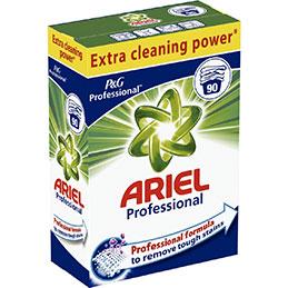 Lessive en poudre ARIEL PROFESSIONNEL - 90 doses (photo)