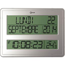 Horloge calendrier digitale CEP (photo)