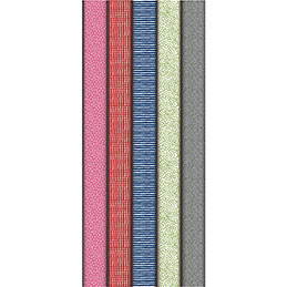 Rouleaux de papier cadeau Maildor - motifs fantaisies assortis - 2x0,70m - boîte de 10 (photo)