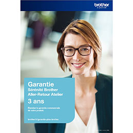 Contrat d'extension de garantie Brother GSER3ARC (photo)