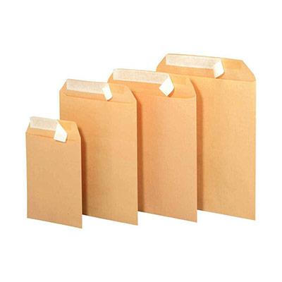 Pochette Kraft - bande siliconée - 229 x 324 mm - 90g - paquet de 250 (photo)