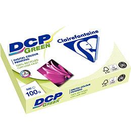 Papier blanc DCP Green - 100 g  - A4 - ramette de 500 feuilles (photo)