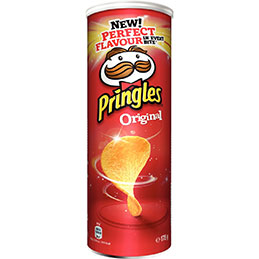Boîte de PRINGLES Original - 175 g (photo)
