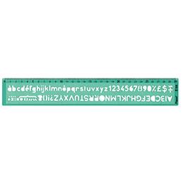 Trace lettre à bille 8 mm maped caractères droits