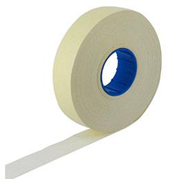 Rouleaux de 1500 étiquettes blanches - format 18 x 16 mm pour pince - paquet de 10