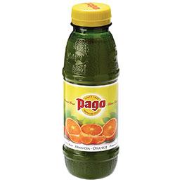 Bouteilles 33cl PAGO - orange - paquet de 12 (photo)