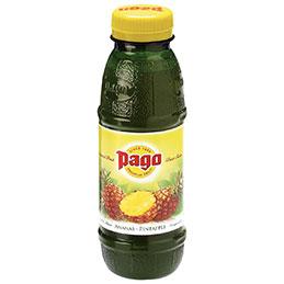 Bouteilles 33cl PAGO - ananas - paquet de 12 (photo)