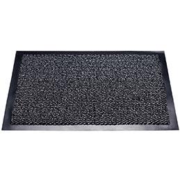 Tapis d'intérieur anti-poussière - 60x90cm - gris