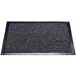 Tapis d'intérieur anti-poussière - 90x150cm - gris