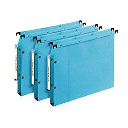Dossiers suspendus  pour armoire Elba AZV Ultimate - dos fond 15 mm - bleu - paquet de 25 (photo)