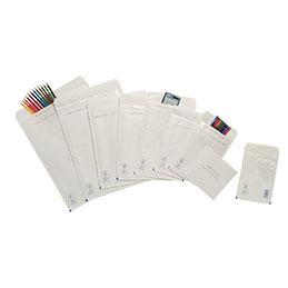 Pochettes bulle d'air blanches - 27x36 cm - carton de 50 (photo)