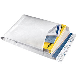 Pochettes à soufflet Tyvek - 229x324x38 - paquet de 50 (photo)