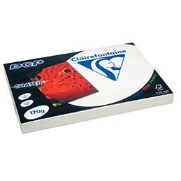Papier blanc DCP - 170 g - A3 - spécial laser - ramette de 250 feuilles (photo)