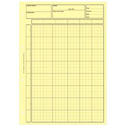 Bloc audit Lebon & Vernay - 80 pages - jaune (photo)