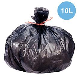 Sacs poubelles - 10L - déchets légers - carton de 1000 (photo)