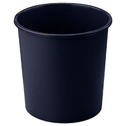 Corbeille à papier plastique ronde - Faibo -  18L - noir (photo)