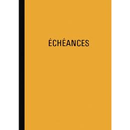 Piqûre échéancier Lebon & Vernay - A4 - 100 pages (photo)
