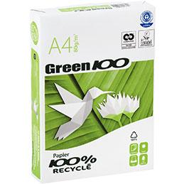 Papier blanc Green - 80 g - A4 - ramette de 500 feuilles (photo)