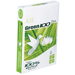 Papier blanc Green - 80 g - A3 - ramette de 500 feuilles (photo)