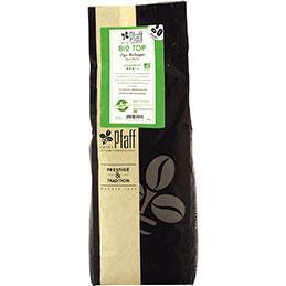 Café en grain bio 100% Arabica  Pfaff - paquet de 1kg (photo)
