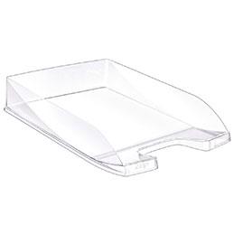 Corbeille à courrier Ecoline 100 CEP - cristal (photo)