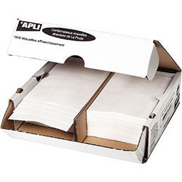 Etiquettes d'affranchissement Agipa - 140x45mm - 2 poses - boîte de 1000
