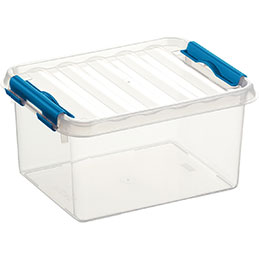 Boîte de rangement avec couvercle QLINE Sunware - 2L - 20x15x10,4 (photo)