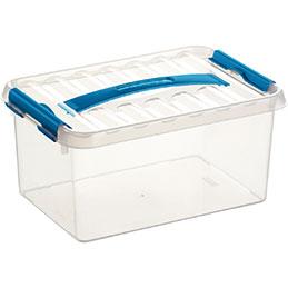 Boîte de rangement avec couvercle QLINE Sunware - 9L - 30,7x20 x14,3 (photo)