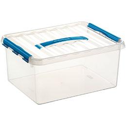 Boîte de rangement avec couvercle QLINE Sunware - 15L - 40x30x18 (photo)
