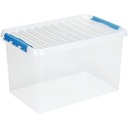 Boîte de rangement avec couvercle QLINE Sunware - 62L - 60x40x34