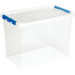 Boîte de rangement avec couvercle QLINE Sunware - 72L - 60x40x42